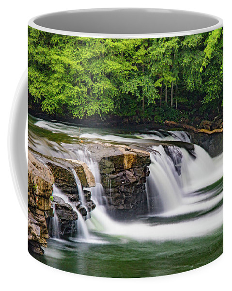 Waterfalls Coffee Mug featuring the photograph Promises To Keep by Jeanne Jackson
