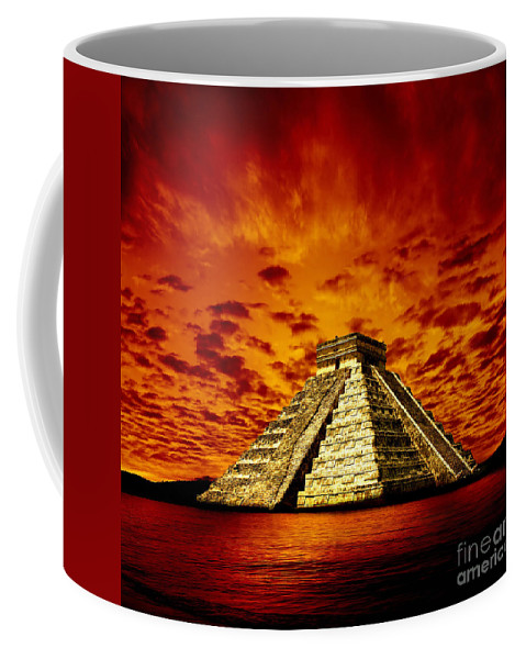 Photodream Coffee Mug featuring the photograph Prophecy by Jacky Gerritsen