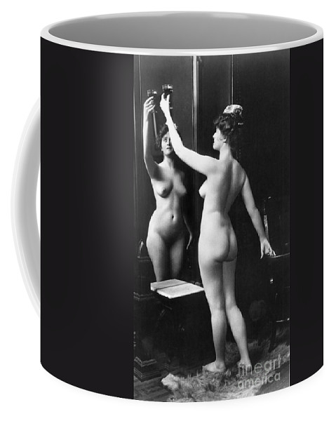 1900 Coffee Mug featuring the painting Prostitution, C1900 by Granger