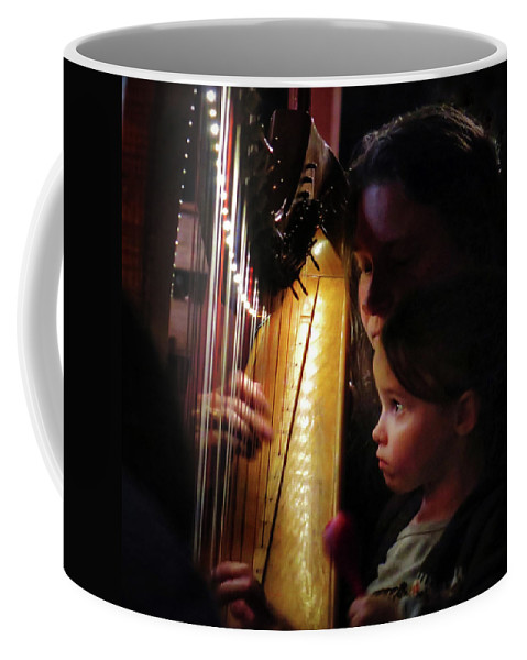 Irish Harp Kathleen Protege Coffee Mug featuring the photograph Protege by Scott Waters