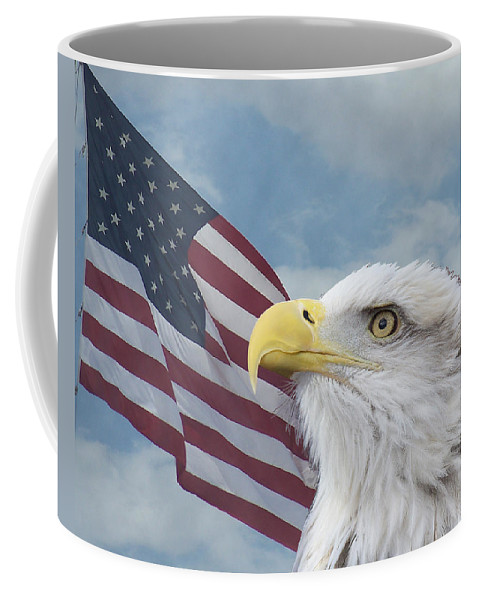 Birds Coffee Mug featuring the photograph Proud by Ernie Echols