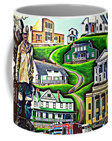 Welch Coffee Mug featuring the photograph Proud Heritage by Steve Harrington