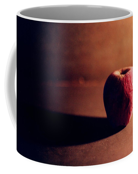 Shriveled Coffee Mug featuring the photograph Pruned Apple Still Life by Michelle Calkins