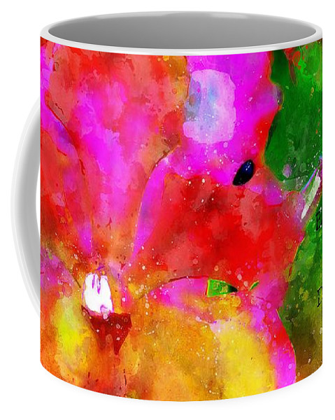Jesus Coffee Mug featuring the digital art Psaumes 35-9 by Payet Emmanuel