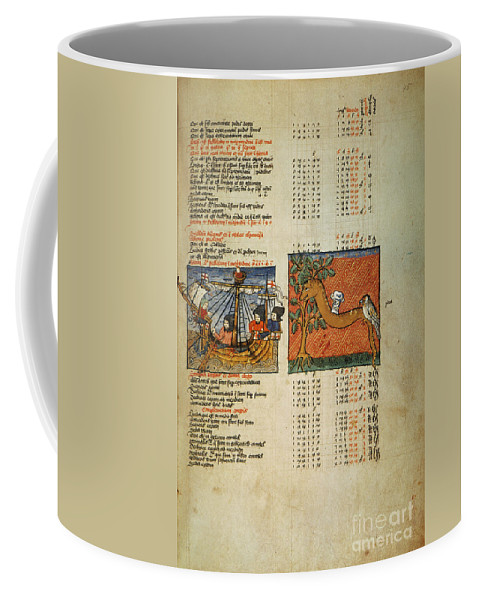 1490 Coffee Mug featuring the photograph Ptolemy: Almagest, 1490 by Granger