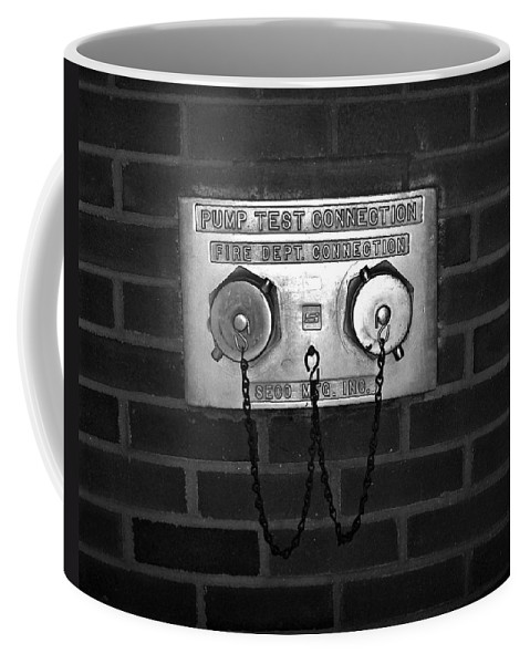 Color Photograph Coffee Mug featuring the photograph Pump Test by Thomas Valentine
