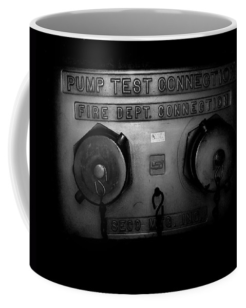 Color Photograph Coffee Mug featuring the photograph Pump Test Two by Thomas Valentine