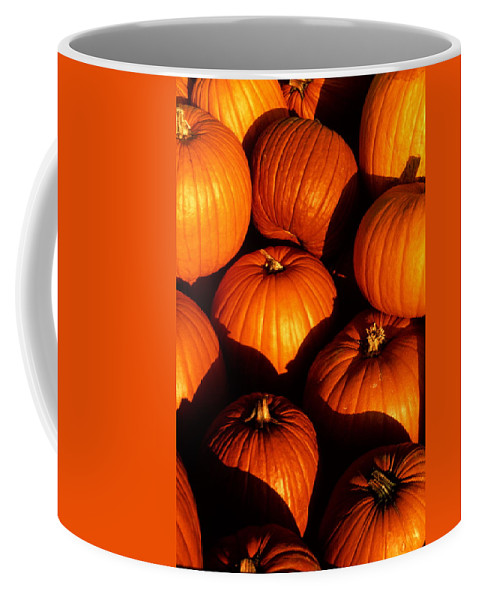 Pumpkins Coffee Mug featuring the photograph Pumpkin Patch by Cyril Furlan