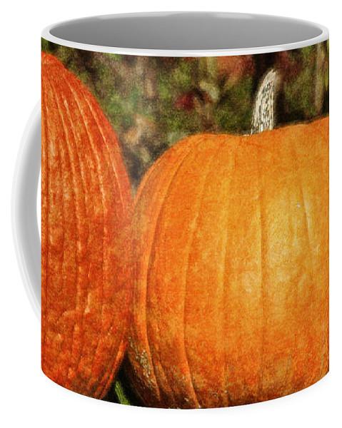 Pumpkins Coffee Mug featuring the photograph Pumpkins by Teresa Mucha
