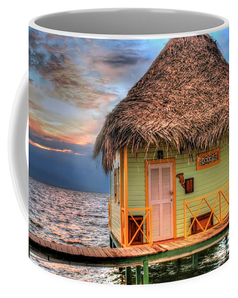 Punta Caracol Coffee Mug featuring the photograph Punta Caracol by Dolly Sanchez