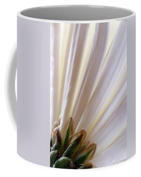 Macro Coffee Mug featuring the photograph Pure by Lauren Radke
