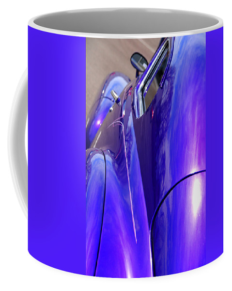 Old Cars Coffee Mug featuring the photograph Purple Chevrolet by Susanne Van Hulst