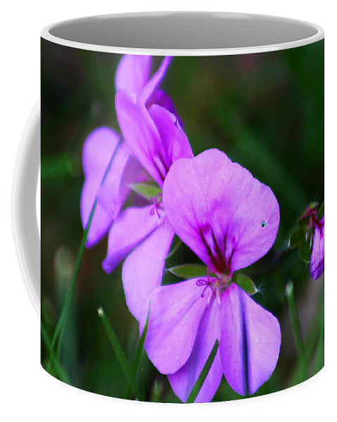 Flowers Coffee Mug featuring the photograph Purple Flowers by Anthony Jones