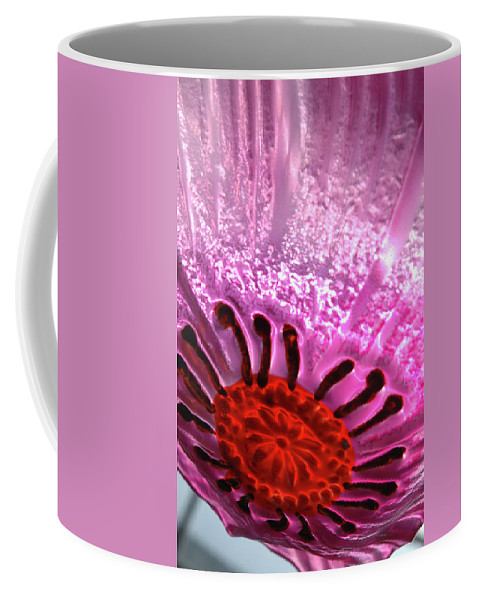 Flower Coffee Mug featuring the photograph Purple Haze by Jerry McElroy