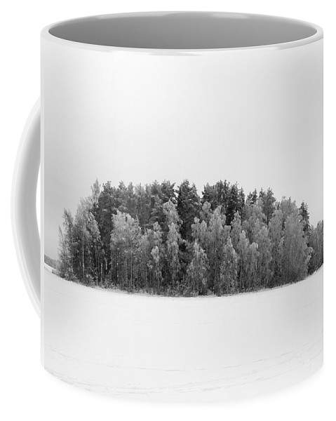Lehtokukka Coffee Mug featuring the photograph Pyhajarvi Winter 1 by Jouko Lehto
