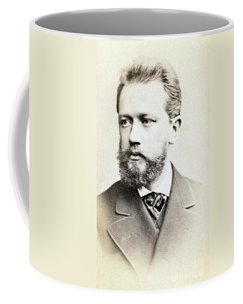Fine Arts Coffee Mug featuring the photograph Pyotr Ilyich Tchaikovsky, Russian by Science Source