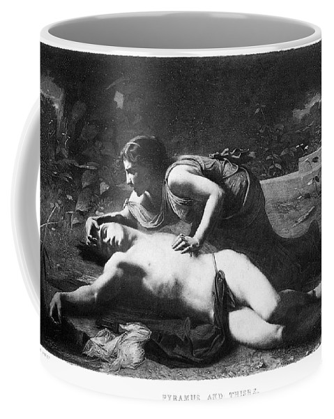 1875 Coffee Mug featuring the photograph Pyramus And Thisbe by Granger
