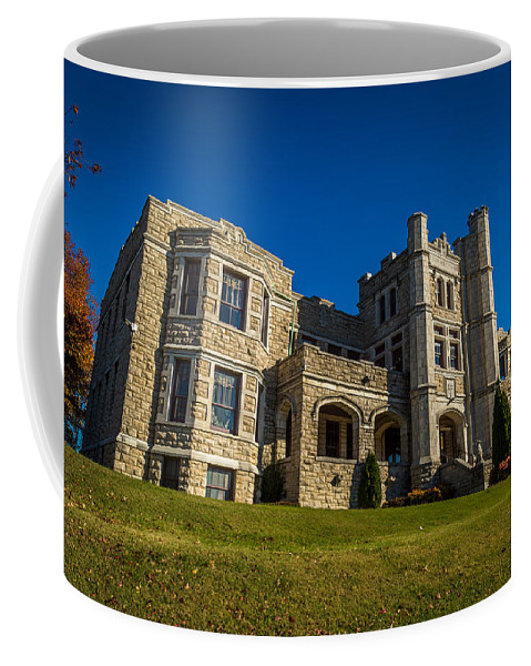 Ancient Coffee Mug featuring the photograph Pythian Castle #1 by Jon Manjeot