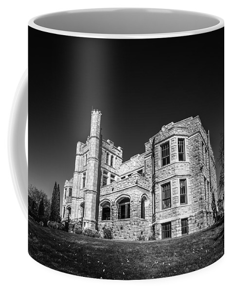 Ancient Coffee Mug featuring the photograph Pythian Castle #3 by Jon Manjeot