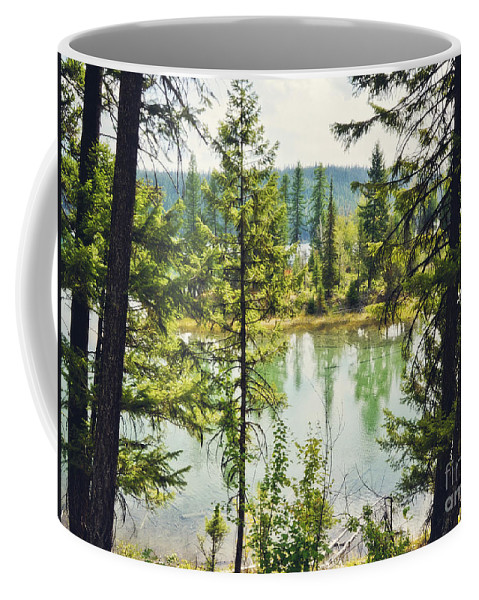 Landscape Coffee Mug featuring the photograph Quaint by Janie Johnson