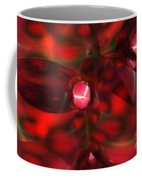 Coffee Mug featuring the digital art Quantum by David Lane