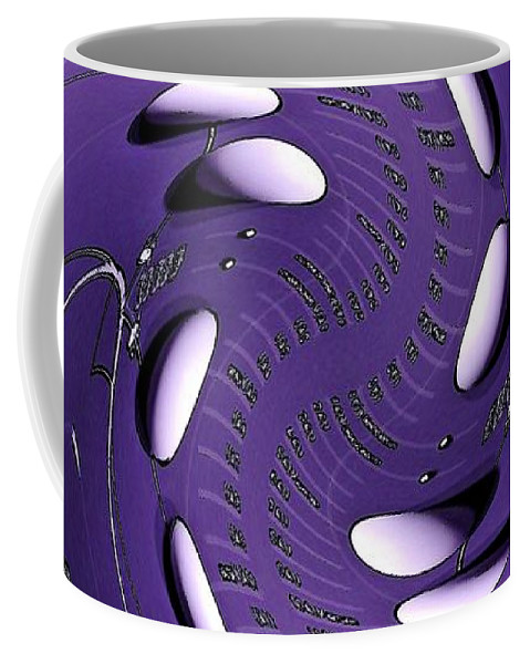Vortex Coffee Mug featuring the digital art Quantum Physics 3 by Rudolph Horvath