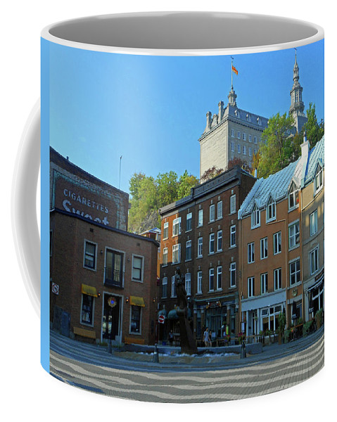 Quebec City Coffee Mug featuring the photograph Quebec City 46 by Ron Kandt