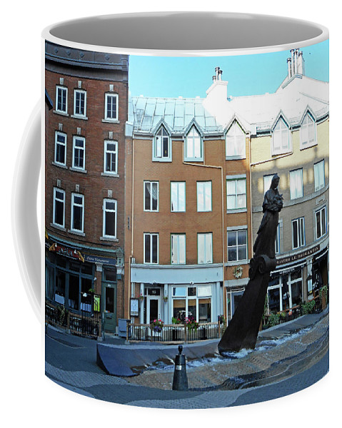 Quebec City Coffee Mug featuring the photograph Quebec City 48 by Ron Kandt