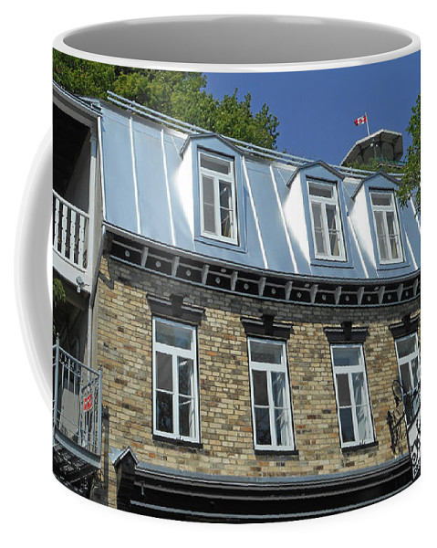 Quebec City Coffee Mug featuring the photograph Quebec City 56 by Ron Kandt