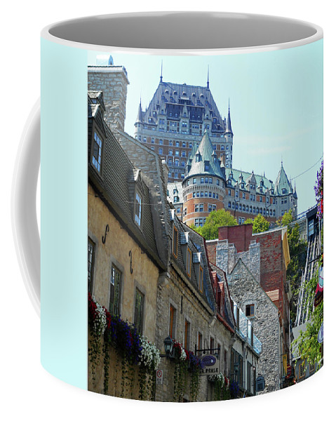 Quebec City Coffee Mug featuring the photograph Quebec City 61 by Ron Kandt