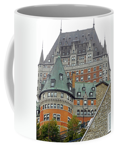 Quebec City Coffee Mug featuring the photograph Quebec City 65 by Ron Kandt