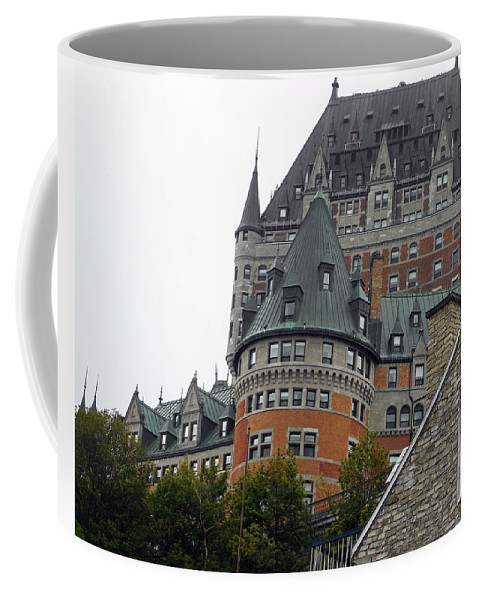 Quebec City Coffee Mug featuring the photograph Quebec City 66 by Ron Kandt
