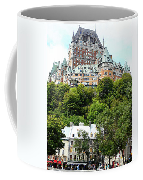 Quebec City Coffee Mug featuring the photograph Quebec City 69 by Ron Kandt