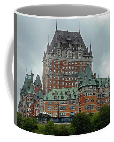 Quebec City Coffee Mug featuring the photograph Quebec City 70 by Ron Kandt
