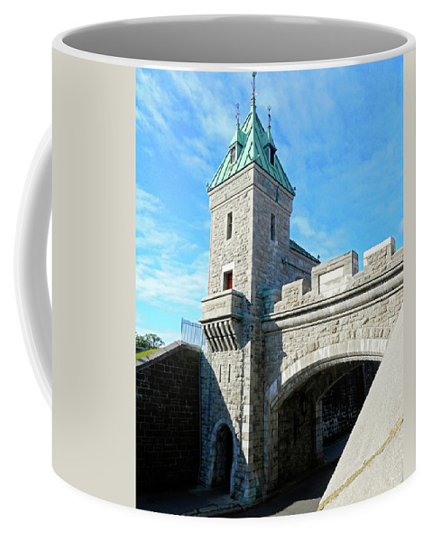 Quebec City Coffee Mug featuring the photograph Quebec City 72 by Ron Kandt
