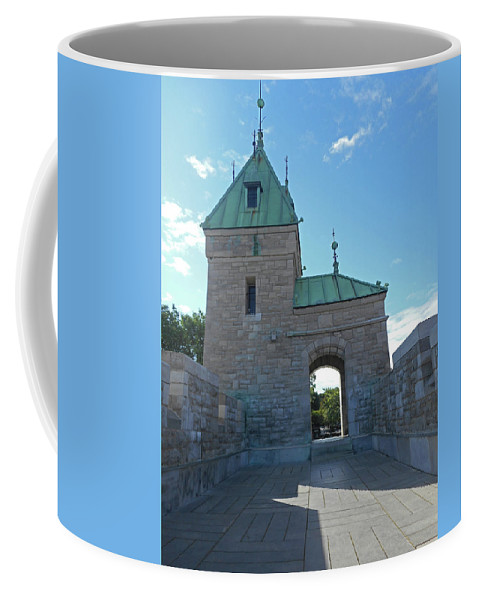 Quebec City Coffee Mug featuring the photograph Quebec City 73 by Ron Kandt