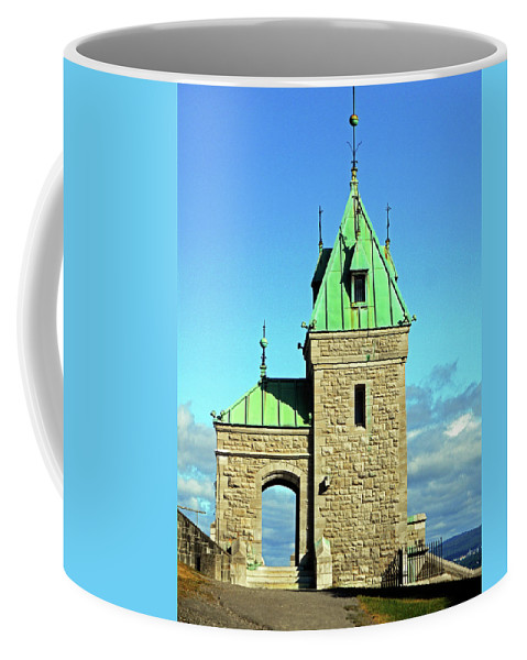 Quebec City Coffee Mug featuring the photograph Quebec City 74 by Ron Kandt