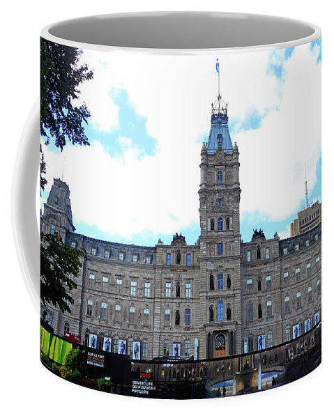 Quebec City Coffee Mug featuring the photograph Quebec City 78 by Ron Kandt