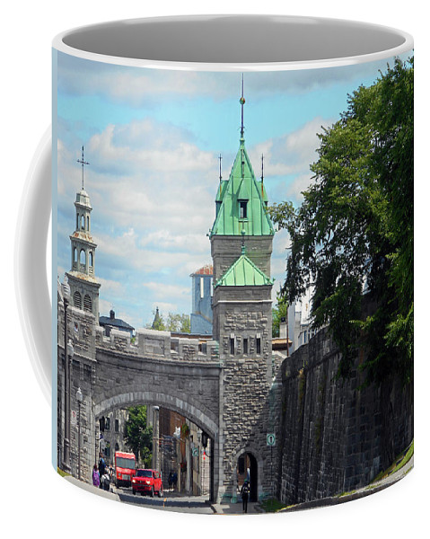Quebec City Coffee Mug featuring the photograph Quebec City 82 by Ron Kandt