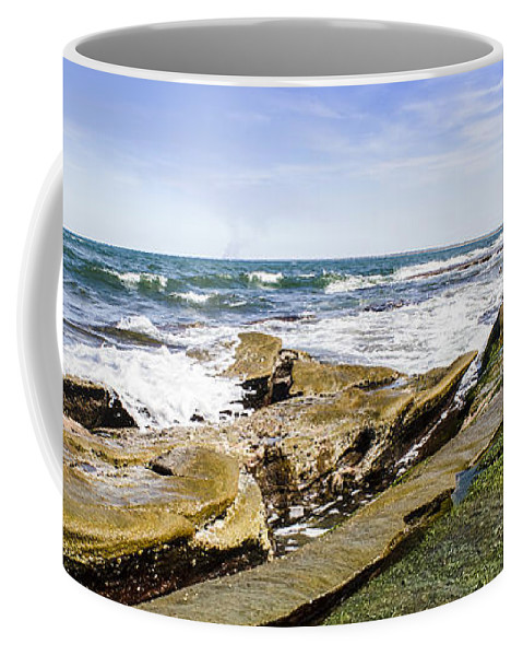 Coast Coffee Mug featuring the photograph Queensland Beach Coastline by Jorgo Photography - Wall Art Gallery