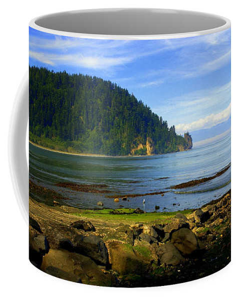 Olympic Coffee Mug featuring the photograph Quiet Bay by Marty Koch
