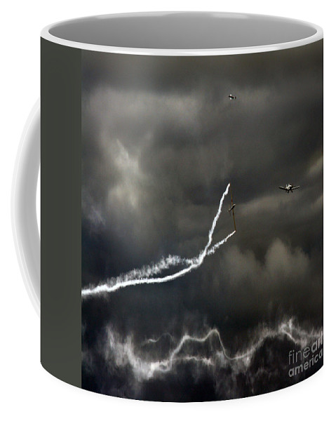 Swift Aerobatic Display Team Coffee Mug featuring the photograph Quiet Flight by Angel Tarantella