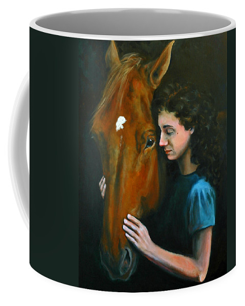 Acrylic Coffee Mug featuring the painting Quiet Moment by Suzanne McKee