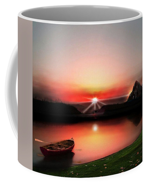 Peaceful View Coffee Mug featuring the photograph Quiet Still by Larry Black
