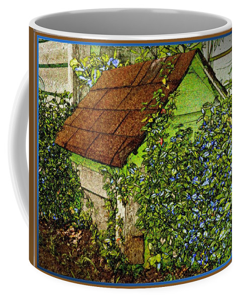 Garden Coffee Mug featuring the photograph Quite Lonely Really by Leslie Revels