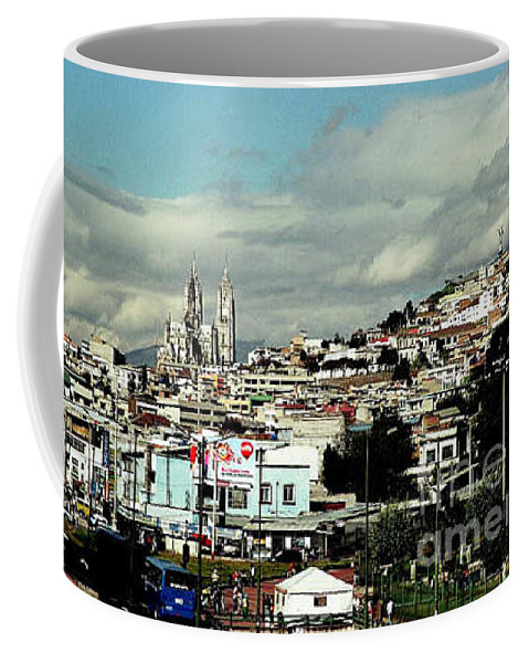 Ecuador Coffee Mug featuring the photograph Quito by Kathy McClure