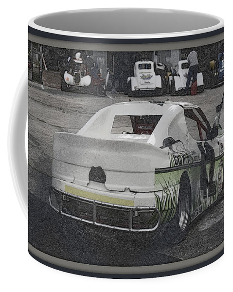 Race Coffee Mug featuring the photograph Race Cars by Anita Goel
