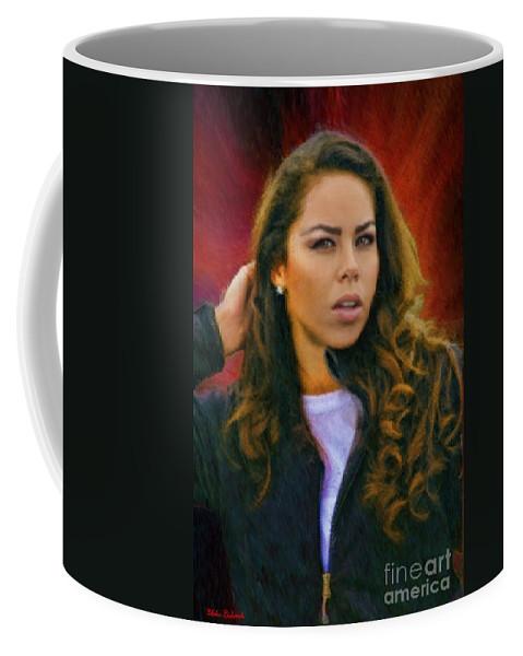 Coffee Mug featuring the photograph Rachel's Look by Blake Richards
