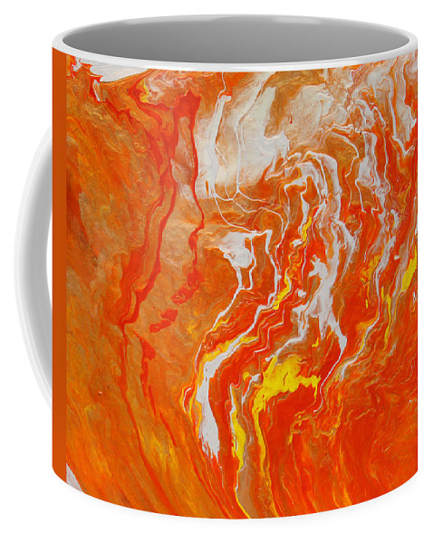 Fusionart Coffee Mug featuring the painting Radiance by Ralph White