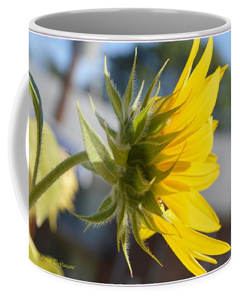 Yellow Coffee Mug featuring the photograph Radiant Moment by Sonali Gangane